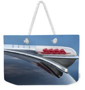 1947 Plymouth Hood Ornament Weekender Tote Bag