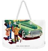 1948 - Dodge Automobile Advertisement - Color Weekender Tote Bag