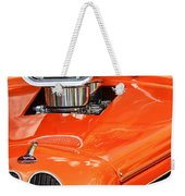 1948 Anglia Engine -522c Weekender Tote Bag