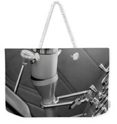 1948 Anglia Steering Wheel -504bw Weekender Tote Bag