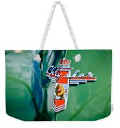 1948 Chrysler Town And Country Convertible Emblem -0974c Weekender Tote Bag