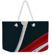 1948 Jaguar 2.5 Litre Drophead Coupe Weekender Tote Bag