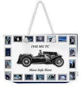1948 Mg Tc Weekender Tote Bag