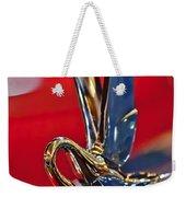1948 Packard Hood Ornament Weekender Tote Bag