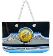 1949 Chrysler Windsor Grille Emblem Weekender Tote Bag