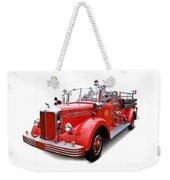 1949 Mack Fire Truck Weekender Tote Bag