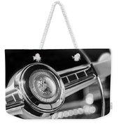 1949 Plymouth P-18 Special Deluxe Convertible Steering Wheel Emblem Weekender Tote Bag