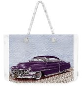 Chopped 1950 Cadillac Coupe De Ville Weekender Tote Bag