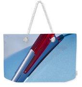 1950 Chevrolet Hood Ornament Weekender Tote Bag by Jill Reger