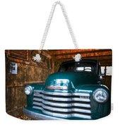 1950 Chevy Truck Weekender Tote Bag by Debra and Dave Vanderlaan