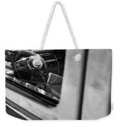 1950 Ford Custom Deluxe Woodie Station Wagon Steering Wheel Emblem Weekender Tote Bag