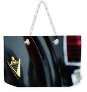 1950 Lincoln Cosmopolitan Henney Limousine Rear Emblem Weekender Tote Bag