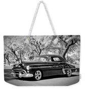 1950 Oldsmobile 88 -004bw Weekender Tote Bag