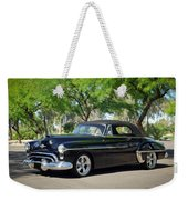 1950 Oldsmobile 88 -004c Weekender Tote Bag