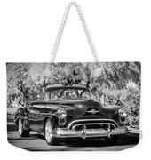 1950 Oldsmobile 88 -105bw Weekender Tote Bag