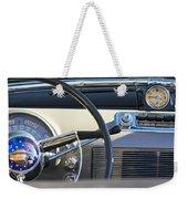 1950 Oldsmobile Rocket 88 Steering Wheel 3 Weekender Tote Bag