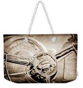 1950 Oldsmobile Rocket 88 Steering Wheel Emblem Weekender Tote Bag