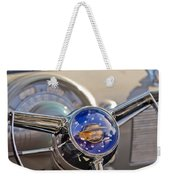 1950 Oldsmobile Rocket 88 Steering Wheel Weekender Tote Bag by Jill Reger