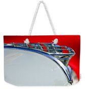 1950 Plymouth Hood Ornament 3 Weekender Tote Bag by Jill Reger