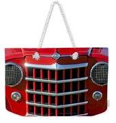 1950 Willys Jeepster Gtille Weekender Tote Bag