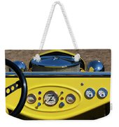 1950s Hot Road Dashboard At Antique Car Weekender Tote Bag