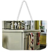 1950's Kitchen Stove Weekender Tote Bag