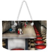 1950's - The Ice Cream Parlor  Weekender Tote Bag