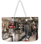 1950's - The Soda Fountain Weekender Tote Bag by Mike Savad