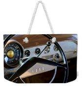 1951 Ford Crestliner Steering Wheel Weekender Tote Bag
