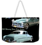 1951 Mercury Come And Going Weekender Tote Bag by Jack Pumphrey