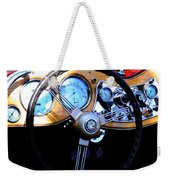 1951 Mg Td Dashboard Weekender Tote Bag
