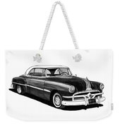 1951 Pontiac Hard Top Weekender Tote Bag