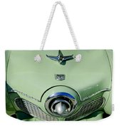 1951 Studebaker Commander Hood Ornament 2 Weekender Tote Bag