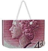 1952-1958 Australia Queen Elizabeth II Stamp Weekender Tote Bag