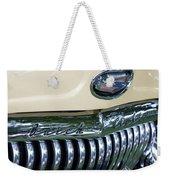 1952 Buick Eight Grill Weekender Tote Bag