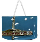 1952 Chevrolet Pickup Hood Weekender Tote Bag