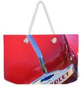 1952 Chevrolet Suburban Hood Ornament Weekender Tote Bag
