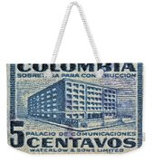 1952 Columbian Stamp Weekender Tote Bag