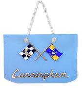 1952 Cunningham C-3 Vignale Cabriolet Emblem Weekender Tote Bag