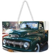 1952  Ford Pick Up Truck Front And Side View Weekender Tote Bag