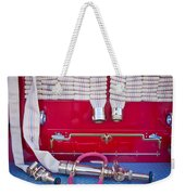 1952 L Model Mack Pumper Fire Truck Hoses Weekender Tote Bag