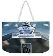 1952 Rolls-royce Hood Ornament Weekender Tote Bag