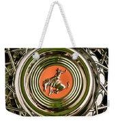 1952 Sterling Gladwin Maverick Sportster Wheel Emblem - 1720c Weekender Tote Bag