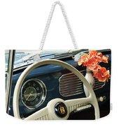 1952 Volkswagen Vw Bug Steering Wheel Weekender Tote Bag