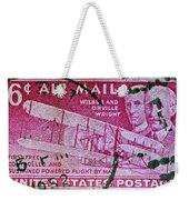 1952 Wright Brothers Stamp Weekender Tote Bag