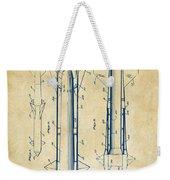 1953 Aerial Missile Patent Vintage Weekender Tote Bag