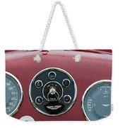 1953 Aston Martin Db2-4 Bertone Roadster Instrument Panel Weekender Tote Bag