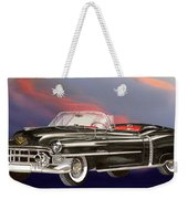 1953  Cadillac El Dorardo Convertible Weekender Tote Bag
