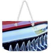 1953 Chevrolet Grille Emblem Weekender Tote Bag