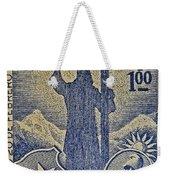 1953 Chile Stamp Weekender Tote Bag